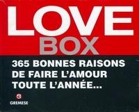 Checkpointfrance.fr Love Box - 365 bonnes raisons de faire l'amour toute l'année... Image