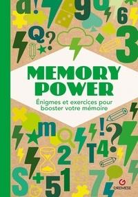 Gremese - Memory Power - Enigmes et exercices pour booster votre mémoire.