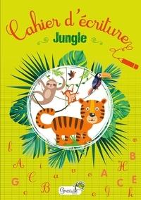 Grenouille éditions - Cahier d'écriture Jungle.