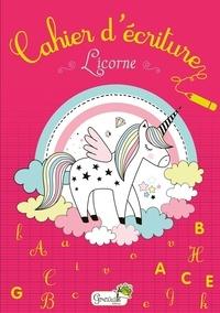 Ebook for Pro téléchargement gratuit Cahier d'écriture Licorne 9782366535556 en francais par Grenouille éditions PDF PDB