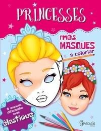 Grenouille éditions - Masques de princesses.