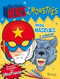 Grenouille éditions - Masques héros et monstres.