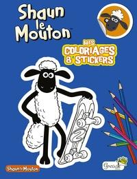 Grenouille éditions - Shaun le Mouton - Mes coloriages et stickers.