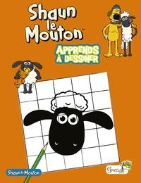 Grenouille éditions - Shaun le Mouton - Apprends à dessiner.