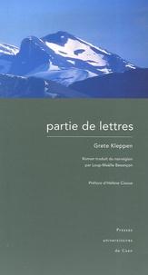 Grete Kleppen - Partie de lettres.