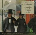 Guy de Maupassant - Le parapluie ; La ficelle ; La parure ; La dot. 1 CD audio