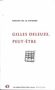 Groupe de la Riponne - Gilles Deleuze, peut-être.
