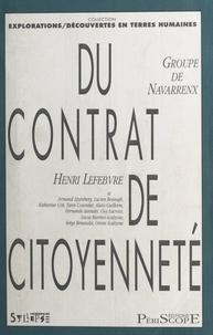 Groupe de Navarrenx et Henri Lefebvre - Du contrat de citoyenneté.