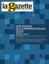 Jérôme Michon - La gazette des communes, des départements, des régions Hors-série, 25 mars  : Code pratique de la commande publique.
