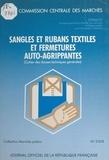 Groupe permanent d'étude des m - Sangles et rubans textiles et fermetures auto-agrippantes : cahier des clauses techniques générales.