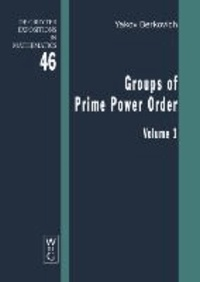 Groups of Prime Power Order 1.