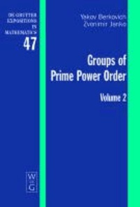Groups of Prime Power Order 2.