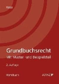 Grundbuchsrecht.