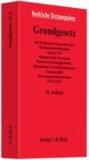 Grundgesetz für die Bundesrepublik Deutschland - mit Einigungsvertrag (ohne Anl.), ParlamentsbeteiligungsG, Artikel 10-G, BundeswahlG, ParteienG, BundesverfassungsgerichtsG, Parlamentar. Geschäftsordnungen, EuropawahlG, Menschenrechtskonvention, EUV.