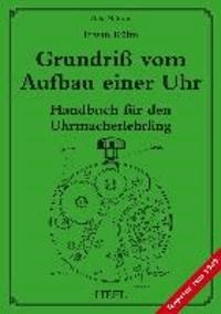 Grundriß vom Aufbau einer Uhr - Handbuch für den Uhrmacherlehrling.