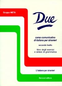Deedr.fr DUE SECONDO LIVELLO. Libro degli esercizi e sintesi di grammatica, 4a edizione Image