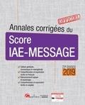 Gualino - Annales corrigées du Score IAE-Message.