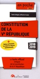 Gualino - Constitution de la Ve République.