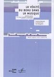 Guerino Mazzola - La vérité du beau dans la musique - Quatre leçons à l'Ecole normale supérieure.