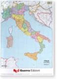 Guerra - Italia fisica / politica - Carte geografiche da muro (1 / 1 250 000).