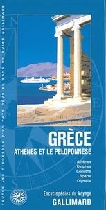 Guides Gallimard - Grèce - Athènes et le Péloponnèse.