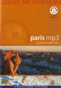 Guides Métrophone - Paris MP3 - Guide de voyage audio CD mp3.