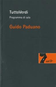 Guido Paduano - TuttoVerdi - Programma di sala.