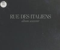 Guil et Bertrand Poirot-Delpech - Rue des Italiens - Album souvenir.