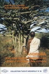 Guilène Réaud-Thomas et Jean-Michel Lebigre - Androka (Extrême-Sud de Madagascar) : carte d'évolution des milieux.