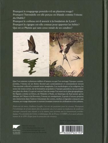 Légendes d'oiseaux