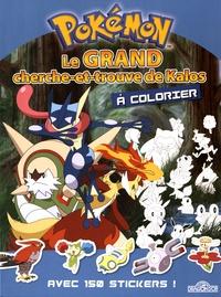 Guilhem Salines et Yannick Lefrançois - Le grand cherche-et-trouve de Kalos à colorier - Avec 150 stickers !.