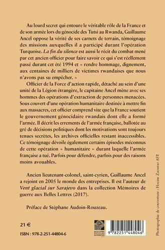 Rwanda, la fin du silence. Témoignage d'un officier français