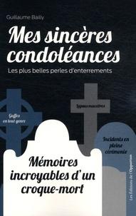 Deedr.fr Mes sincères condoléances - Les plus belles perles d'enterrements Image