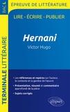Guillaume Bardet et Dominique Caron - Epreuve de littérature Bac L 2019 - Hernani, Victor Hugo.