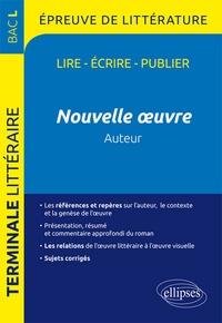 Guillaume Bardet - Nouvelle oeuvre au programme Bac L 2017 Tle Littéraire.