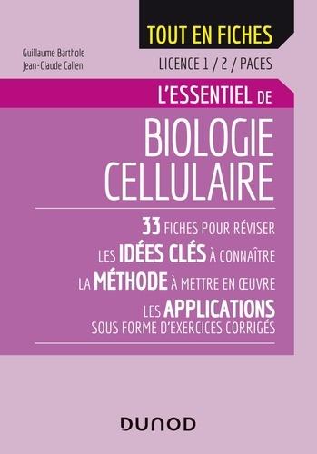 L'essentiel de biologie cellulaire