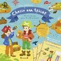 Guillaume Blossier et Maud Liénard - Chasse au trésor - 45 min de jeu pour 2 à 12 enfants. Avec 20 parchemins, 1 manuel pour l'organisateur, 12 récompenses et 12 invitations.