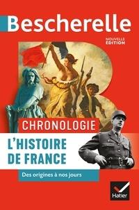 Guillaume Bourel et Marielle Chevallier - Bescherelle Chronologie de l'histoire de France - des origines à nos jours.