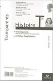 Guillaume Bourel et Marielle Chevallier - Histoire Tle, Sections L/ES/S - Transparents.