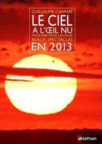 Guillaume Cannat - Le ciel à l'oeil nu en 2013 - Mois par mois les plus beaux spectacles.