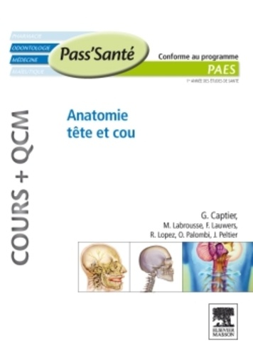 Guillaume Captier - Anatomie tête et cou.