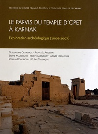 Guillaume Charloux - Parvis du temple d'Opet à Karnak - Exploration archéologique (2006-2007).