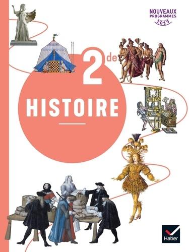 Histoire 2nde. Livre de l'élève  Edition 2019