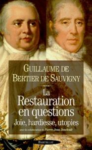 Guillaume de Bertier de Sauvigny - .