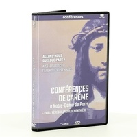 Guillaume de Menthière - Conférence de Carême à Notre-Dame de Paris. 1 DVD