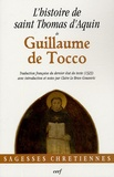 Guillaume de Tocco - L'histoire de saint Thomas d'Aquin.