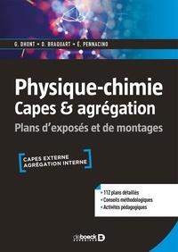 Guillaume Dhont et Damien Braquart - Physique-chimie CAPES & agrégation - Plans d'exposés et de montages.