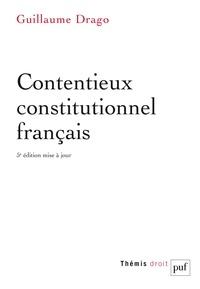 Guillaume Drago - Contentieux constitutionnel français.