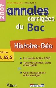 Guillaume Dumont et Roger Revuz - Histoire-Géo L-ES-S - Annales corrigées du Bac.