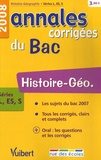 Guillaume Dumont - Histoire-Géo séries L, ES, S - Annales corrigées du Bac.